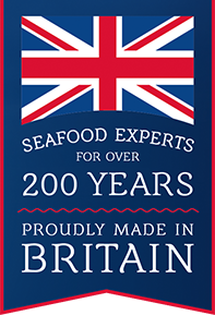 Seafood experts for over 200 years. Proudly made in Britain.